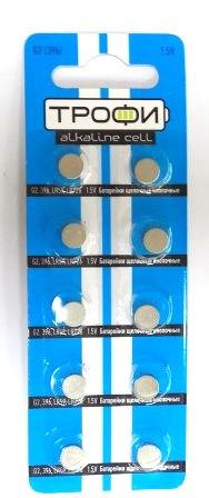 Элемент питания  ТРОФИ  G2 к-т10 (396/LR726/LR59) 1/20