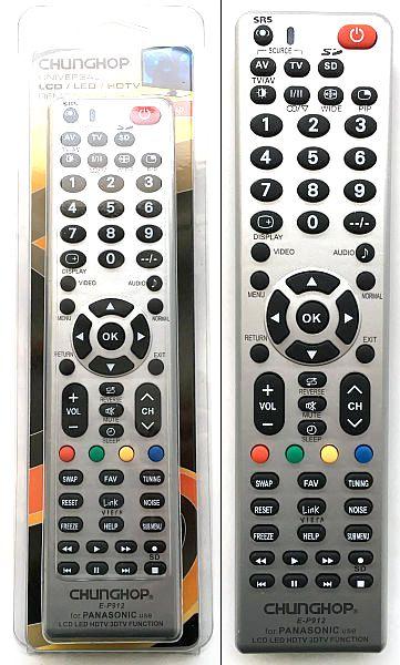 Универс пульт для ЖК Panasonic P912 2*AAA 1510-106
